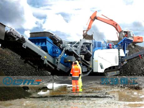 湖bei大冶市ri产2000吨建筑垃圾处理she备