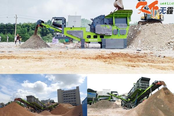 建筑la圾再生建材生产线