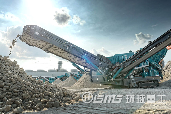 农村cheng市化dekuaisuzeng长采用移dong式po碎站处理建筑垃圾