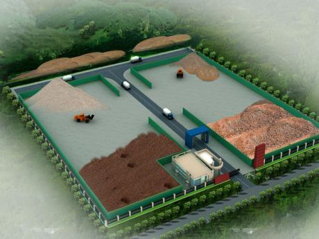 建zhu垃圾消纳场