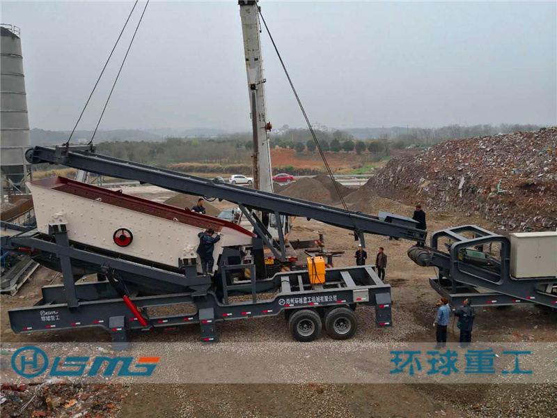 建zhu垃圾破碎生产线
