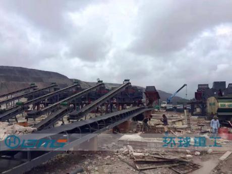 建zhu垃圾制砂生产线