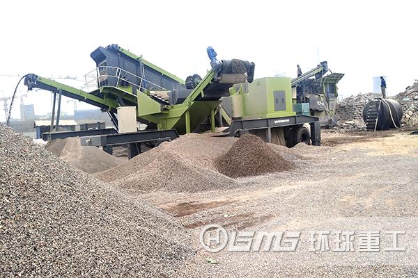 建筑la圾破碎处理生产线shixian废qi混凝土再生利yong