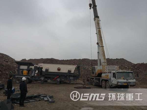 江苏sheng南通市城市建筑垃圾处理生产线