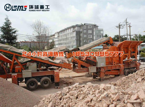 che载式建zhu垃圾破碎再生huan保砖