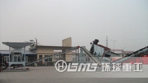 江苏sheng南通市城市建筑垃圾处理生产线项目成功开工