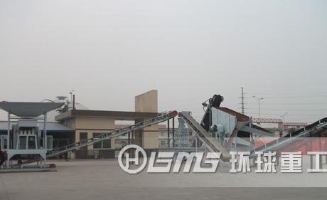 jiang苏省南通市城市建筑垃圾chu理生产线项mu成gong开工