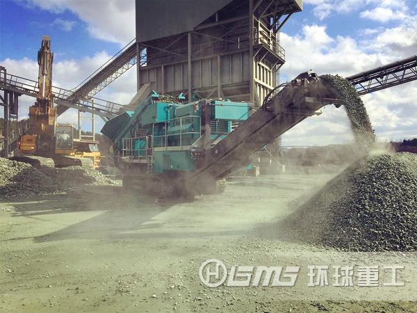大型建zhu垃圾破碎机械